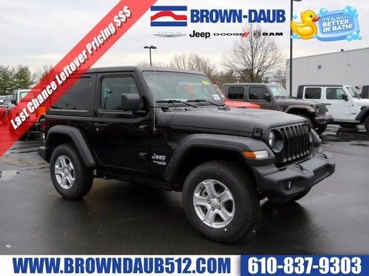 Brown Daub Jeep >> 2019 Jeep Wrangler 4wd Sport S
